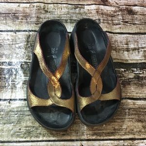 Tatami by Birkenstock Metallic Slides